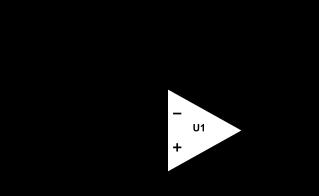 Montage amplificateur non inverseur.