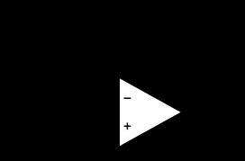 Fig 5 : Circuit équivalent dans le cas f compris entre f1 et f2. Le condensateur C10 est équivalent à un fil et C11 et C6 sont équivalent à un circuit ouvert.