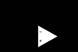Fig 6 : Circuit équivalent dans le cas f compris entre f2 et f3. Les condensateurs C10 et C11 sont équivalent à un fil et C6 est équivalent à un circuit ouvert.
