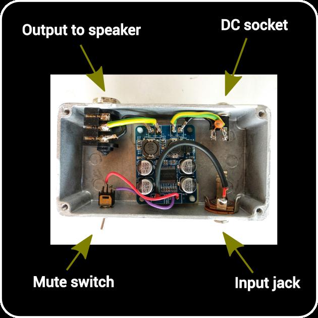 Comment fabriquer un ampli de poche avec le TPA3118