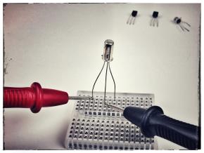 Tester le type et les électrodes