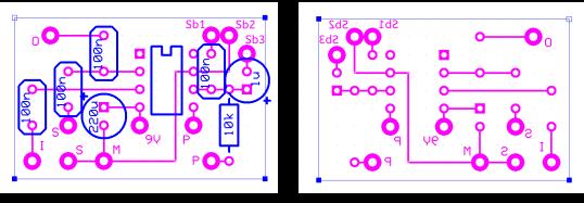 Perfboard utilisé pour monter le Thing Modulator modifié basé sur un LM567.