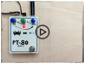 Monter un kit de pédale d'effet : bref exemple du delay PT-80