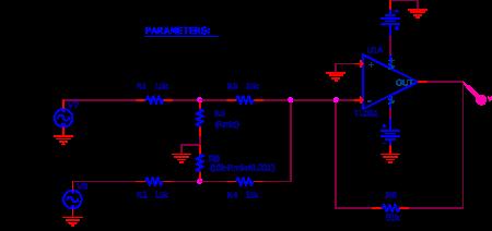 Mixer utilisé dans le schematic pour BTDR.