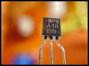Comment monter un boost avec un transistor MPSA18